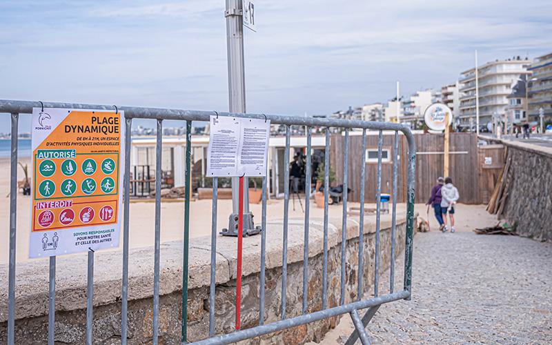 Pornichet : une quarantaine de contraventions dressées sur les plages