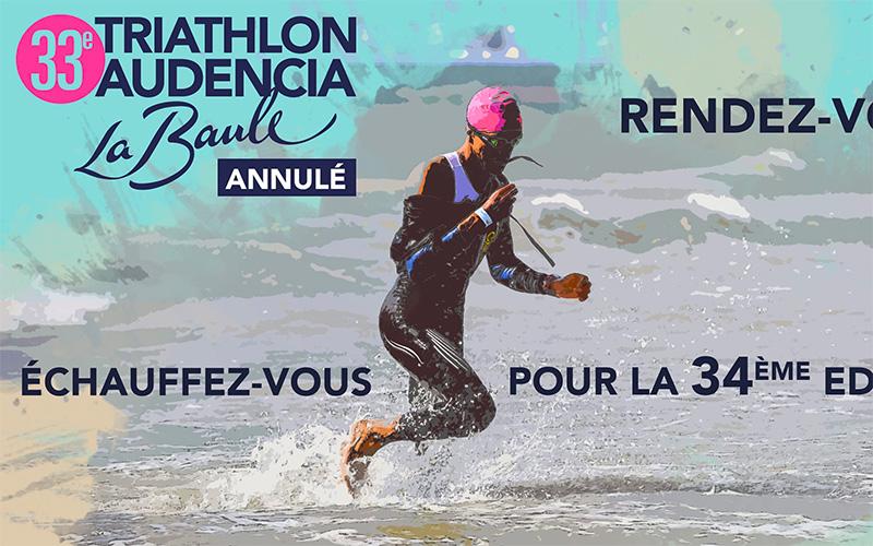 La Baule : la 33ème édition du Triathlon Audencia est annulée