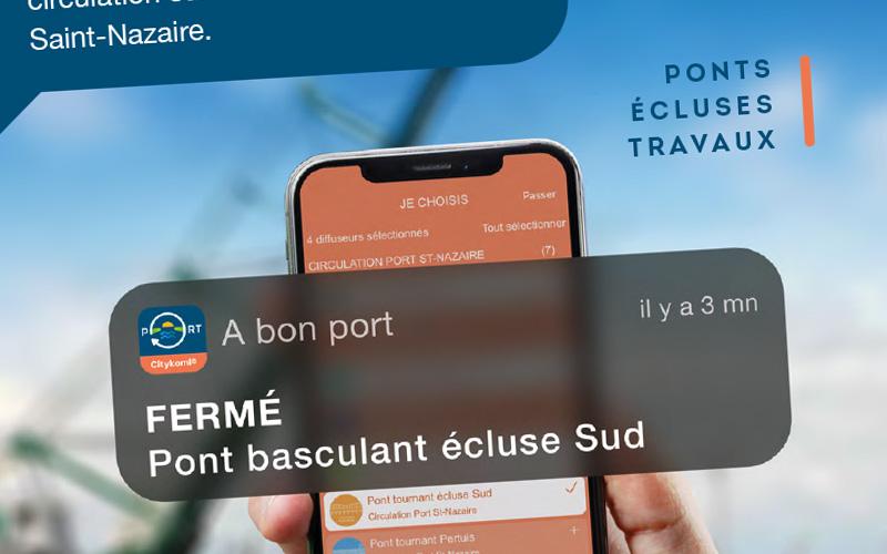 Port de Saint-Nazaire : une nouvelle appli pour tout connaître sur les conditions de circulation