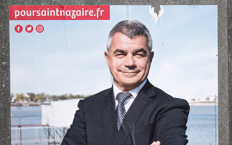 Municipales 2020 : David Samzun réélu maire de Saint-Nazaire