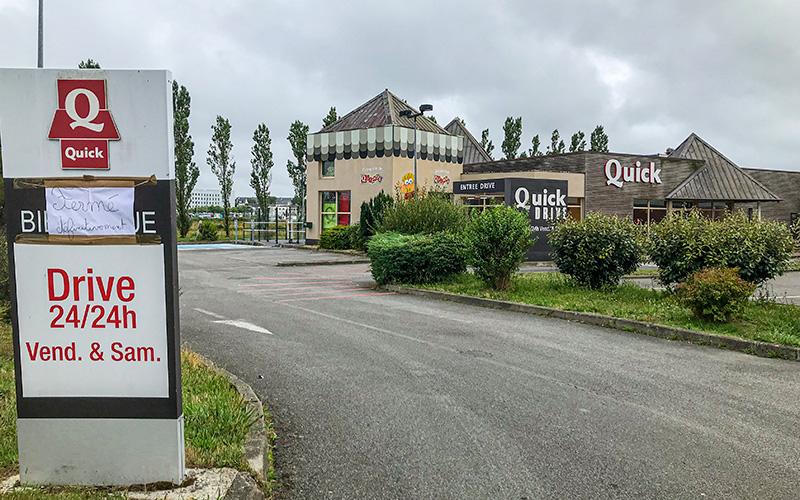 Trignac : Quick ferme définitivement ses portes