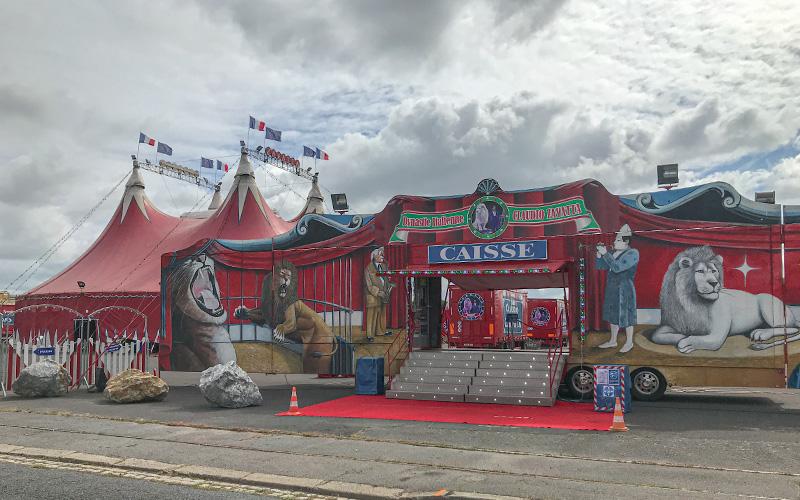 Saint-Nazaire : le cirque Zavatta se pose au Petit Maroc