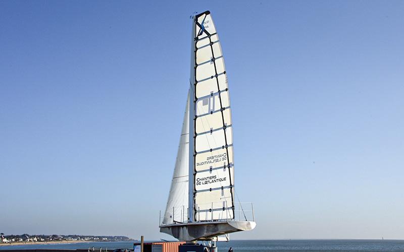 Pornichet : une visite à la découverte de la voile du futur Solid Sail 2.0
