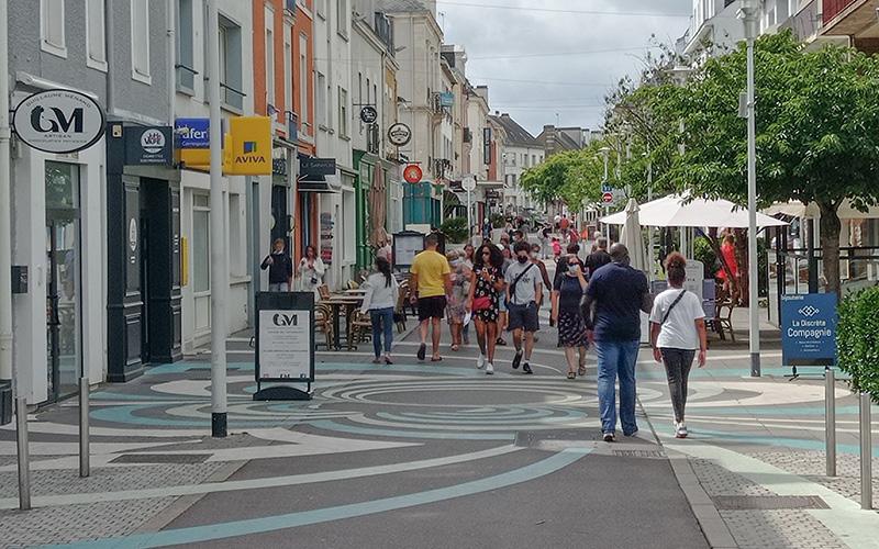Saint-Nazaire : le masque bientôt obligatoire dans plusieurs rues ?