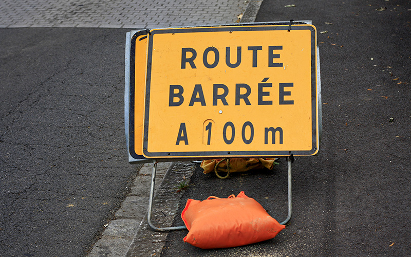 Montoir-de-Bretagne : fermeture de la bretelle de l'échangeur de Gron