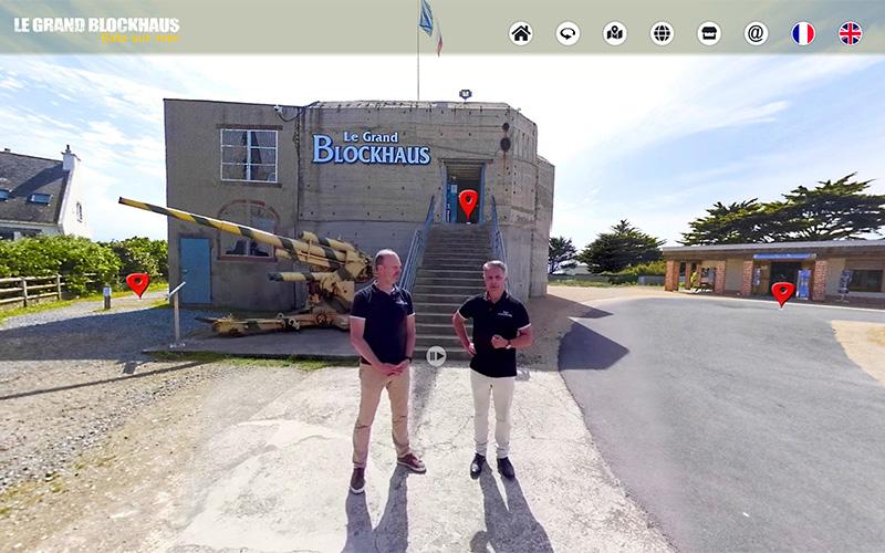 Batz-sur-Mer : Le Grand Blockhaus innove avec des visites virtuelles interactives
