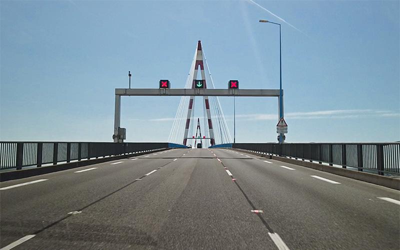 Pont de Saint-Nazaire : fermeture dans la nuit du lundi 26 au mardi 27 octobre