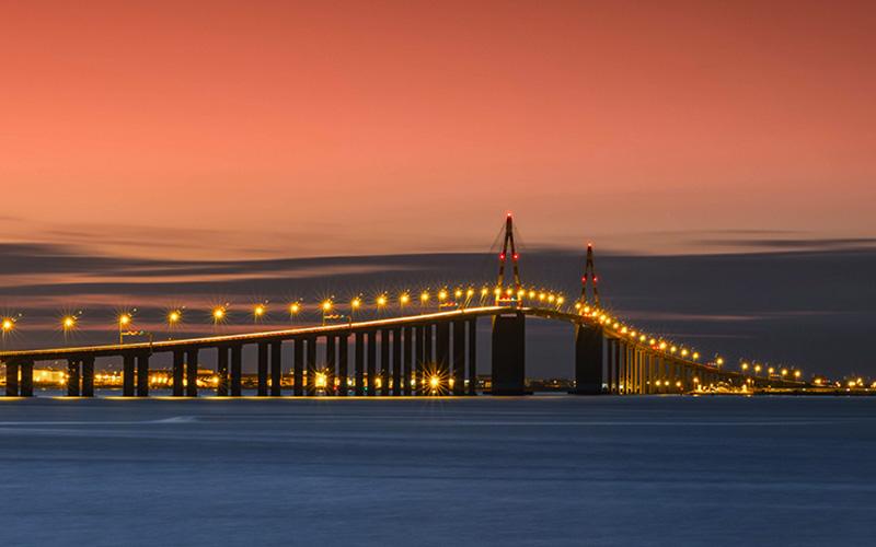 Tempête Alex : le pont de Saint-Nazaire fermé dans la nuit du 1er au 2 octobre