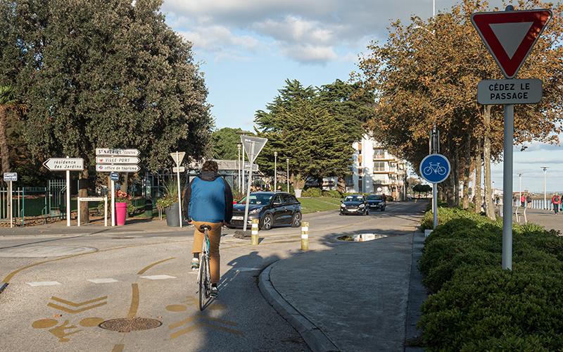 Saint-Nazaire : une pétition pour le maintien de la piste cyclable du front de mer