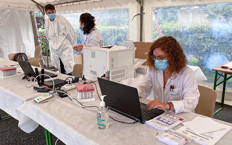 La Baule : ouverture d'un centre de dépistage antigénique de la COVID