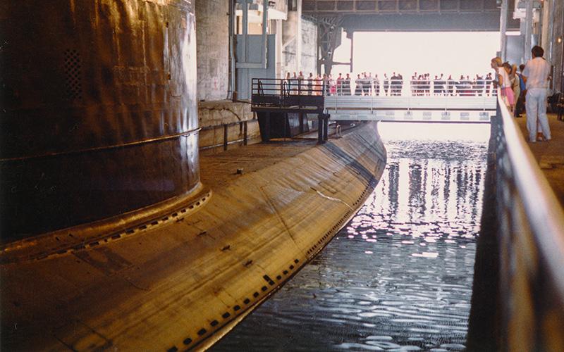 Saint-Nazaire : une collecte de dons pour restaurer le sous-marin Espadon