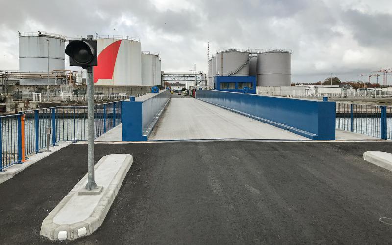 Saint-Nazaire : le Pont du Pertuis à nouveau fermé à la circulation