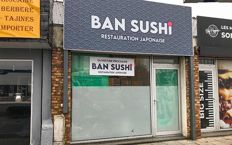 Bientôt un restaurant Ban Sushi à Trignac