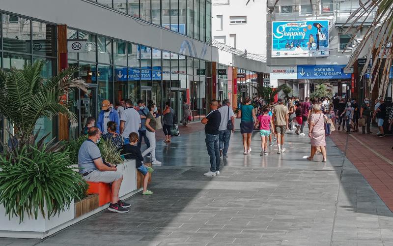Saint-Nazaire : le centre commercial Ruban Bleu reste bien ouvert
