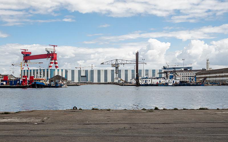 Saint-Nazaire : la gestion des déchets des Chantiers confiée à Suez