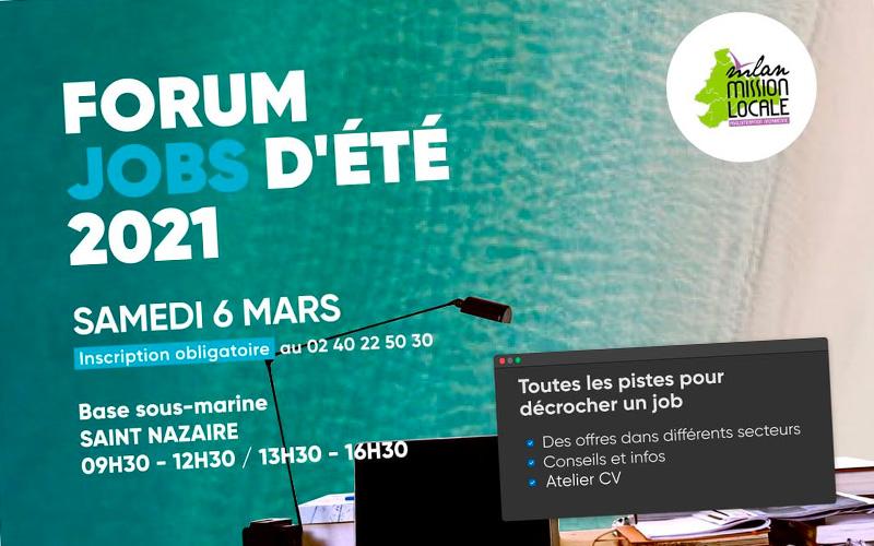 Saint-Nazaire : organisation d'un forum jobs d'été en mars