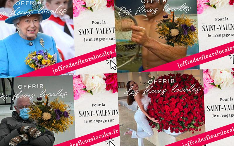 Régionales : offrir des fleurs pour la Saint-Valentin ? Oui, mais locales !