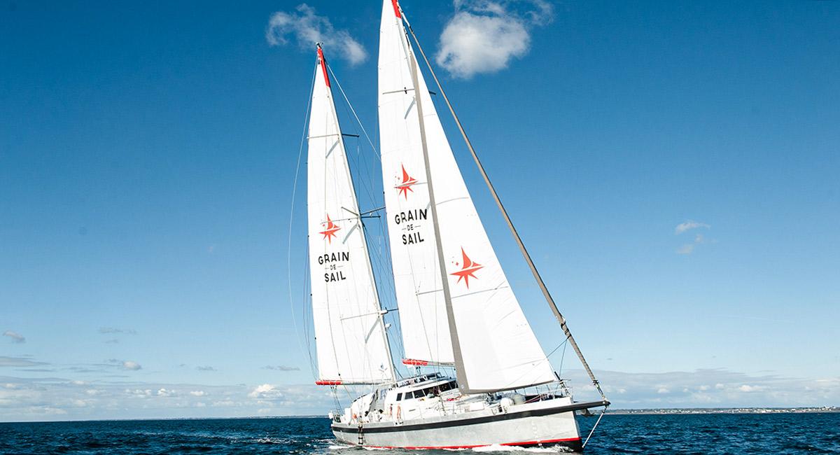 Saint-Nazaire : le voilier cargo Grain de Sail fera escale mercredi