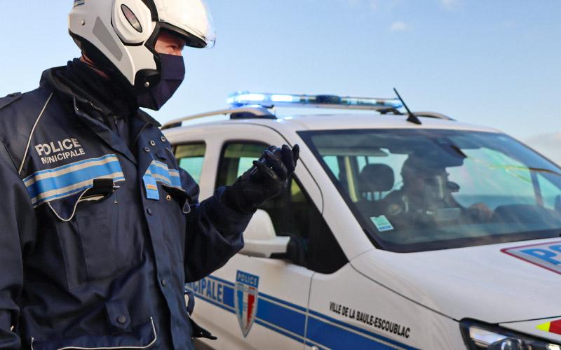 La Baule : un nouveau réseau radio testé par la Police Municipale