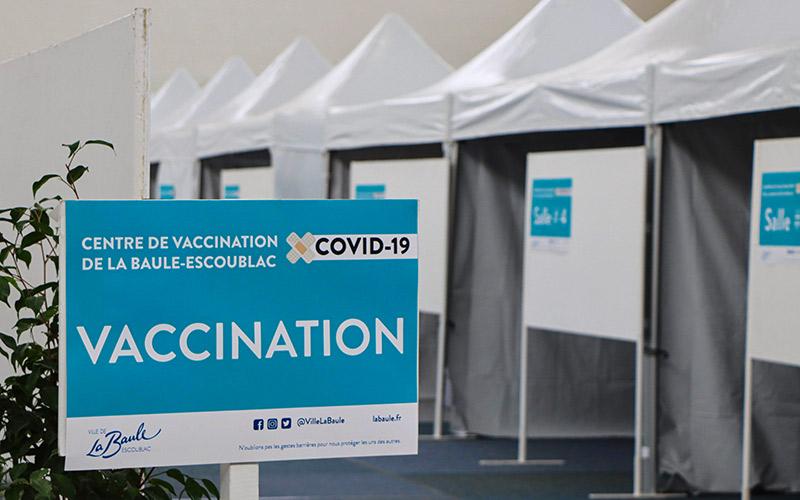 La Baule : l'ouverture du centre de vaccination élargie aux plus de 75 ans