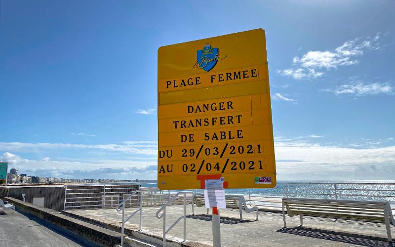 Pornichet et La Baule : fermeture des plages durant 5 jours
