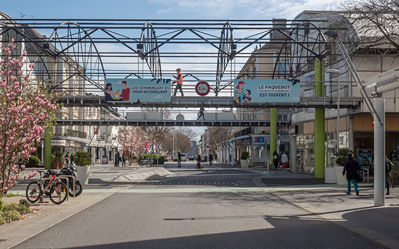 Saint-Nazaire : fermeture de la rue Albert de Mun au niveau du Paquebot
