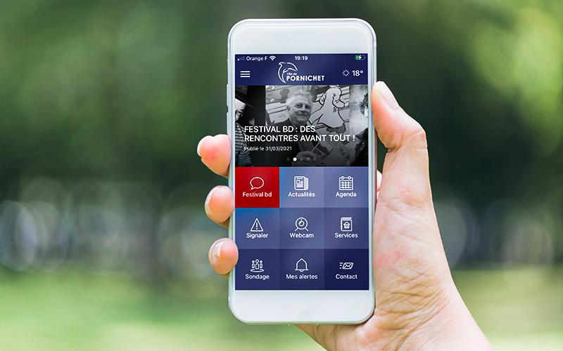 Pornichet : la ville lance son appli mobile