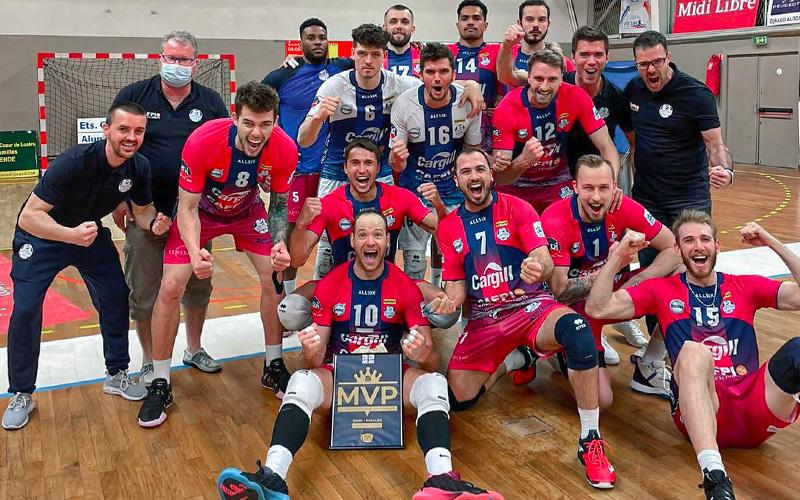 Saint-Nazaire : le SNVBA gagne sa place en finale