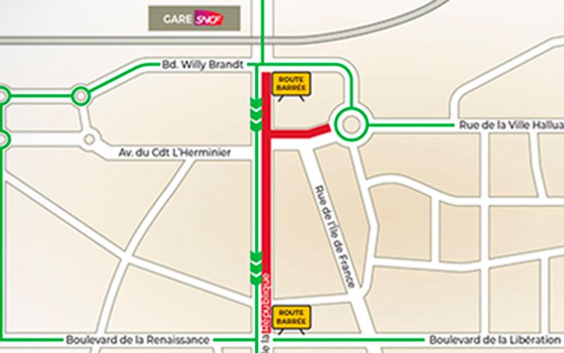 Saint-Nazaire : fermeture partielle de l'avenue de la République pour travaux