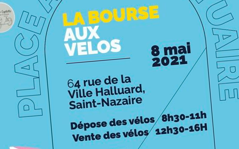 Saint-Nazaire : une bourse au vélo le samedi 8 mai