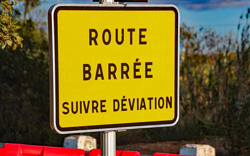 Saint-Nazaire : la RD 213 fermée durant 6 nuits entre Brais et Trefféac