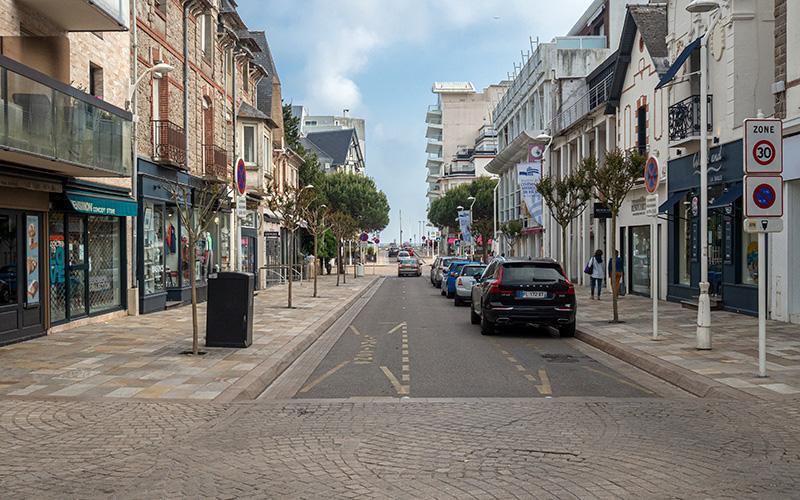 La Baule : l'avenue de Gaulle en partie piétonnisée le soir à partir du 9 juin