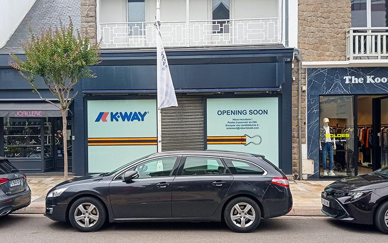 La Baule : ouverture d'une boutique K-Way