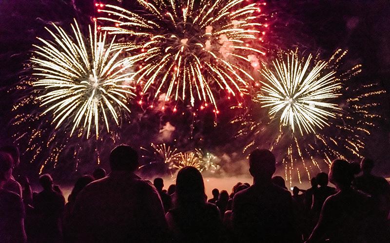Trignac : un feu d'artifice pour le 14 juillet