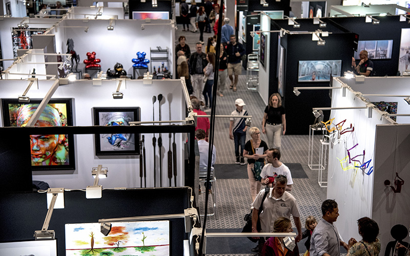 La Baule : salon ART Shopping, l'art à portée de tous et de toutes les bourses