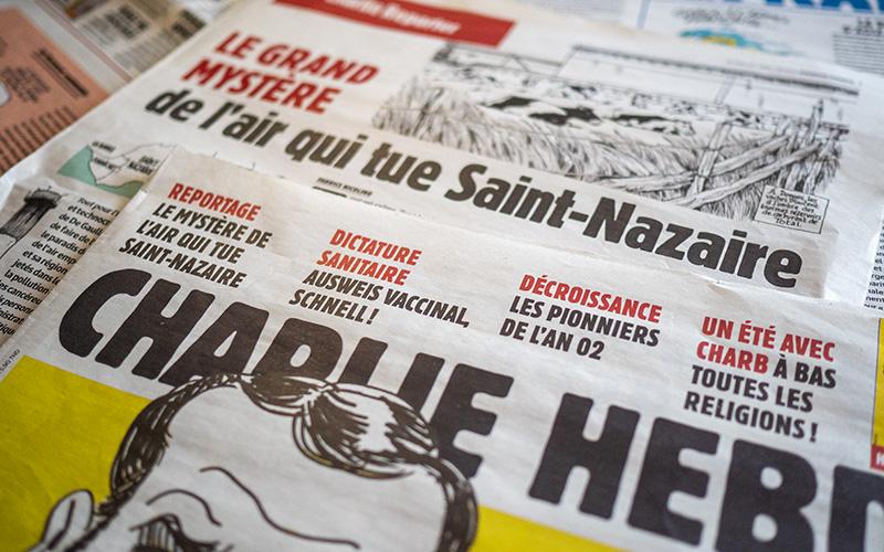 Saint-Nazaire : Charlie Hebdo enquête sur la pollution de l'air