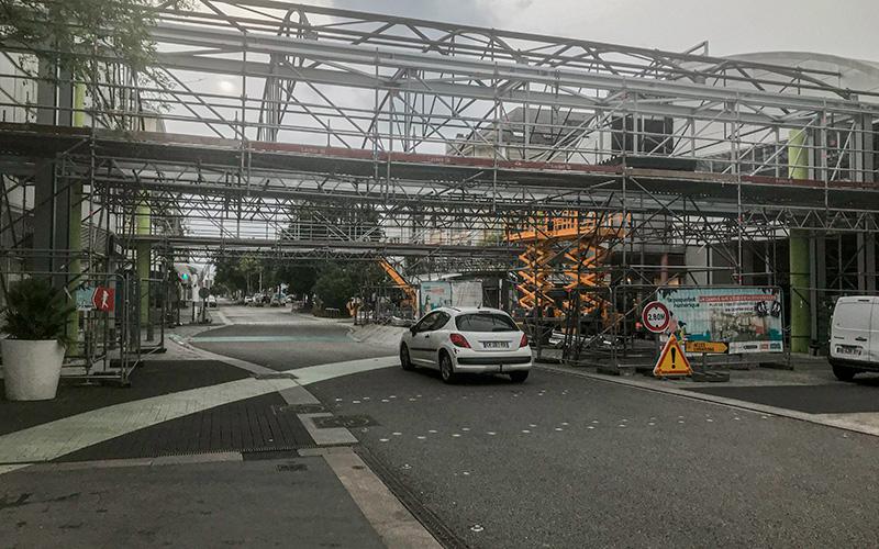 Saint-Nazaire : circulation rétablie au Paquebot