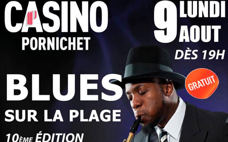 Pornichet : Blues sur la Plage et son feu d'artifice confirmés par le Casino