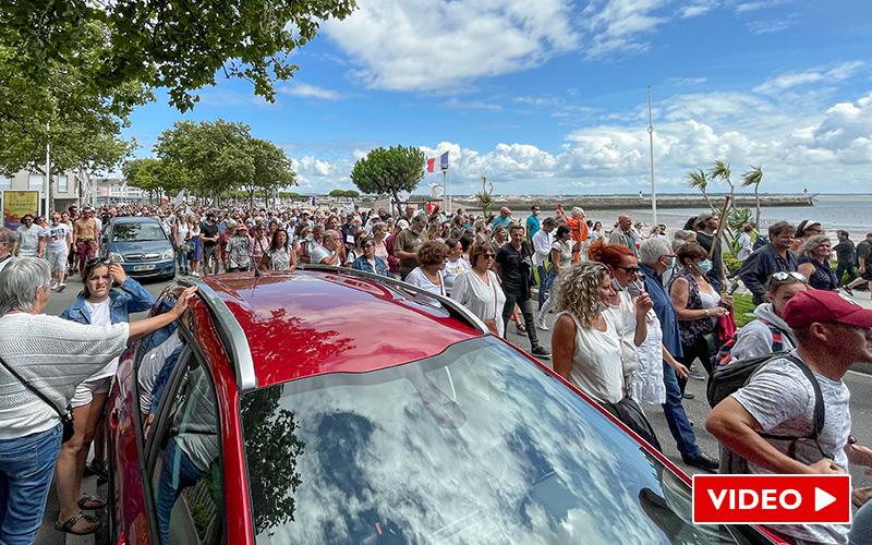 Saint-Nazaire : nouvelle mobilisation massive contre le pass sanitaire