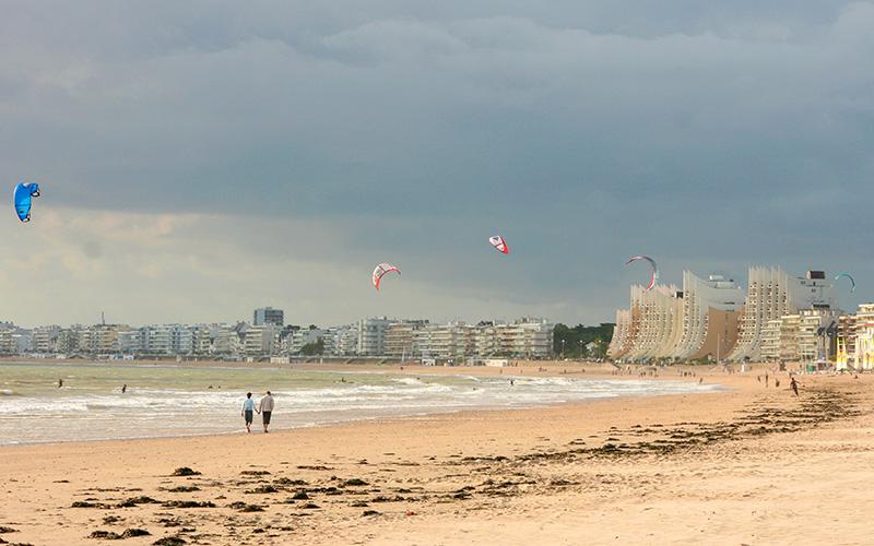 La Baule et Pornichet s'accordent sur une bonne pratique du kite-surf