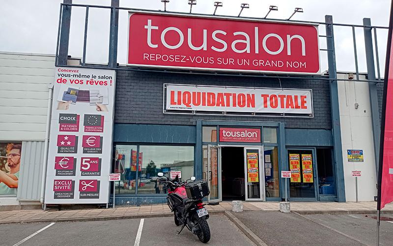 Trignac : liquidation totale à Tousalon avant changement d'enseigne