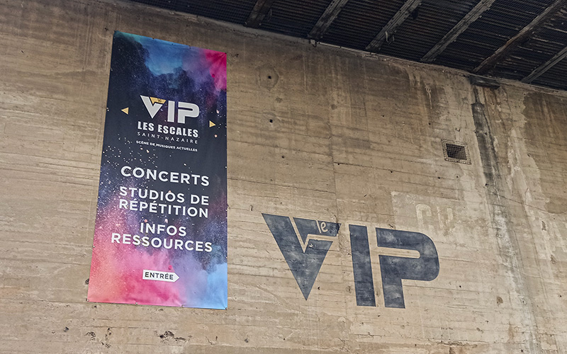 Saint-Nazaire : enfin des concerts debout au VIP !
