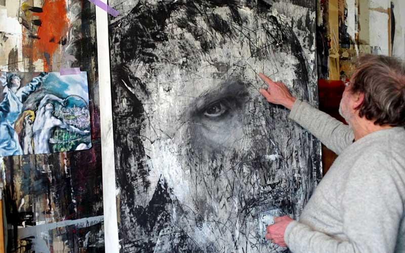 Les artistes de Paimboeuf exposent au Hangar